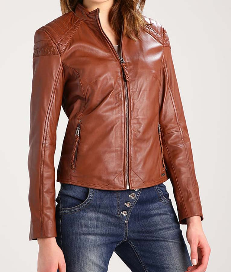 KayaQ Leather Jaket Kulit Wanita
